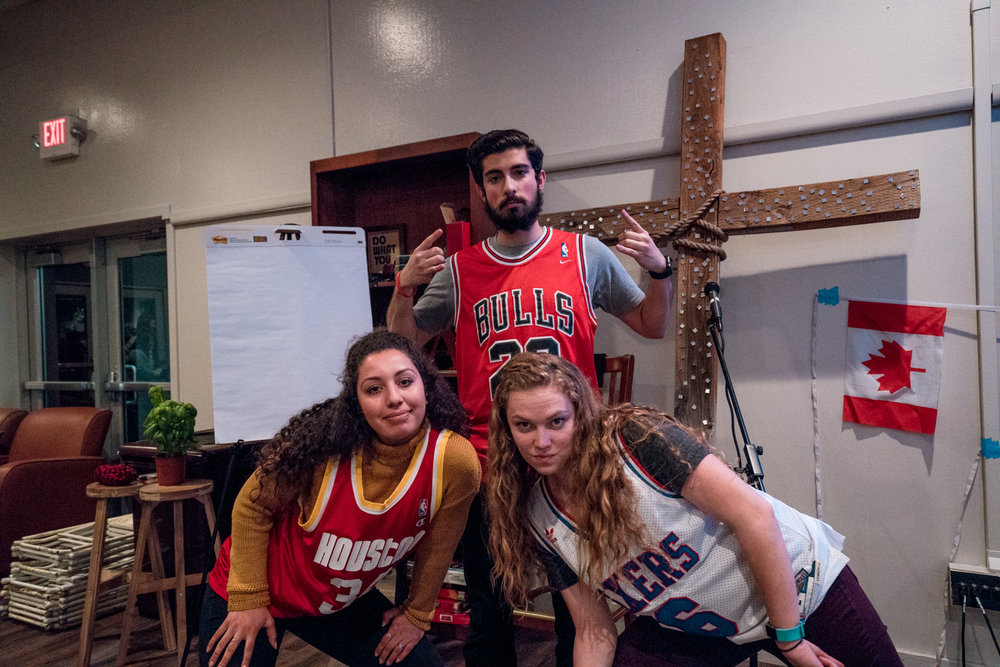 Student Ministry Coordinators for Action Teams = Ballers