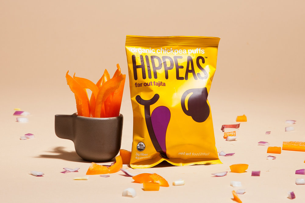 HIPPEASActive Investment - HIPPEAS Organic Chickpea Puffs are organic, gluten-free, vegan, non-GMO and kosher. HIPPEAS' light and crunchy puffs are the new go-to snack for those who demand great taste and high-quality ingredients. HIPPEAS is currently available in five far-out flavors: Vegan White Cheddar, Sriracha Sunshine, Bohemian Barbecue, Far Out Fajita and Pepper Power.www.hippeas.com