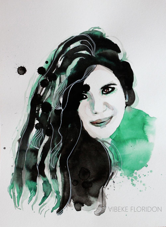 """""""Free Zehra Dogan"""" 1000 NOK / €100"""