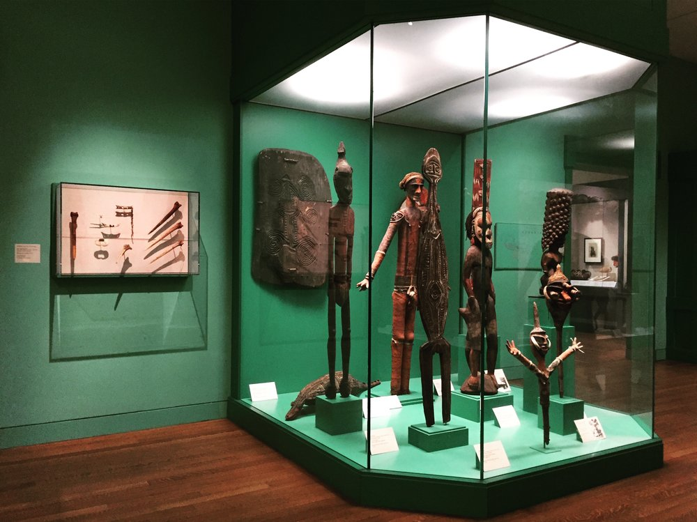Oceanic display at  New Orleans Museum of Art .