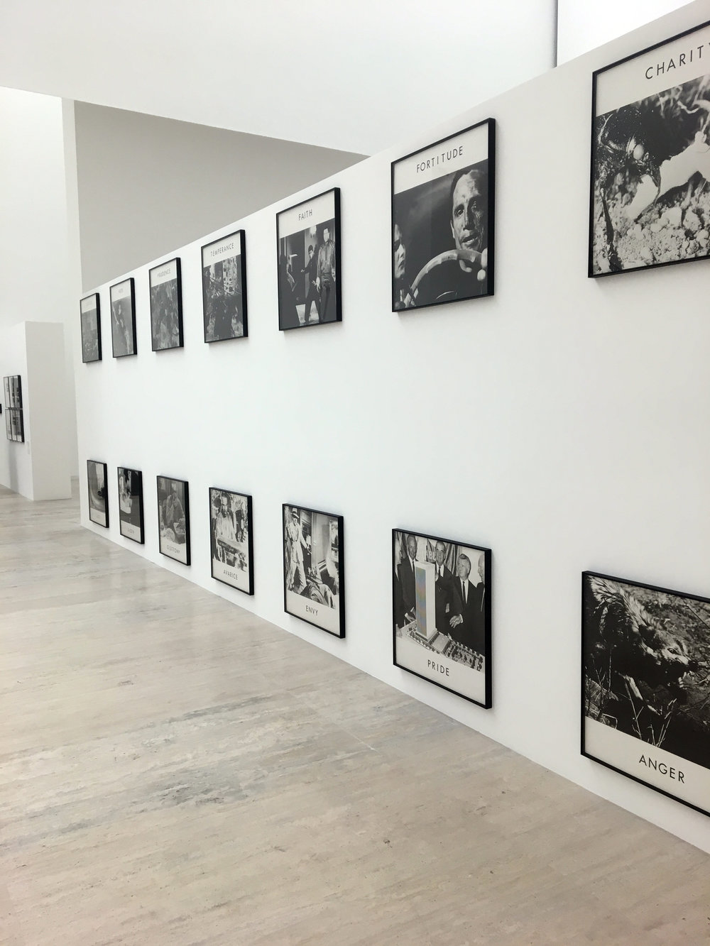 A John Baldessari retrospective at the Jumex.