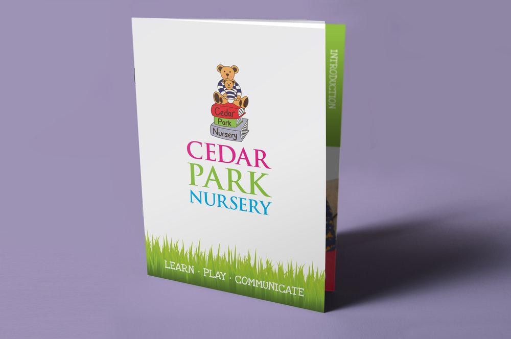 CEDAR PARK NURSERY BROCHURE