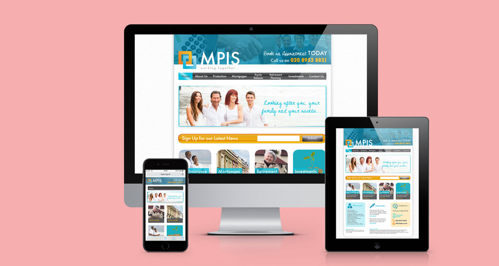 WEBSITE DESIGN - MPIS