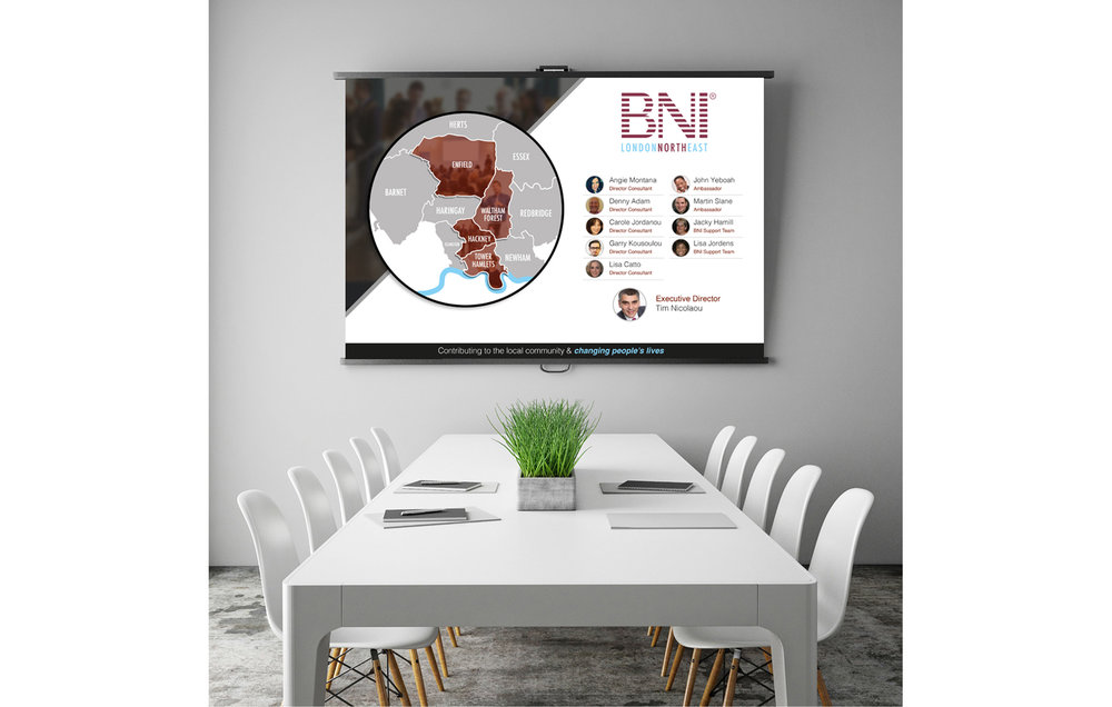PRESENTATION SLIDE DESIGN - BNI LONDON NORTH EAST