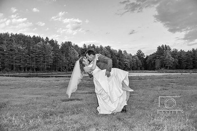 Beautifully done dip ✅ . . . . . #syracusewedding #brideandgroom #weddings #fallportraits #weddingdip #2018wedding  #fall #2018 #syracusephotographer #syracuse #weddingphotography #dip #posing #fallwedding #syracuseweddingphotographer #wedding #pond #landscape #bride #groom #blackandwhitephotography #blackandwhite