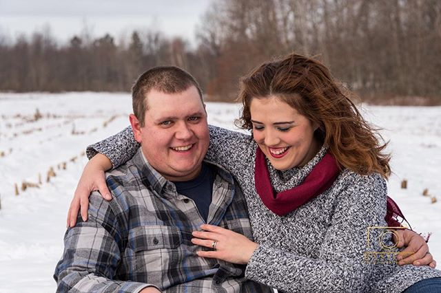 A lovely winter photo shoot on the farm. . . . . . #syracusephotographer #familyphotographer #weddingphotographer #winterwedding #couplepose #2018couple  #winter #2018 #syracusephotography #syracuse #weddingphotography #pose #posing #familyphotography #syracusefamilyphotographer #syracuseweddingphotographer #couplespose #wintercolors #marriedcouple #cornfield #winterphotoshoot #winter #candid #candidmoment #bokeh #emotion