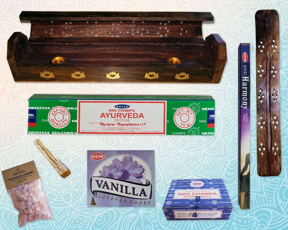 Incense - We have a very wide selection on incense products.