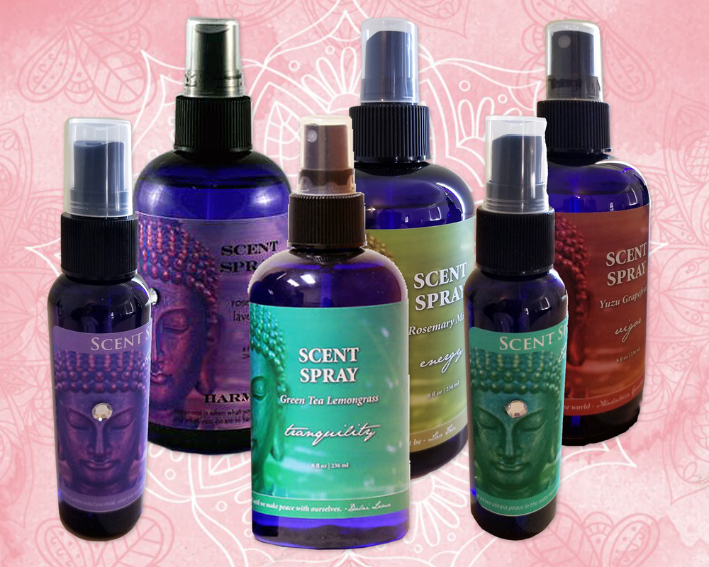 Sprays - We carry a variety of Buddhalicious sprays.