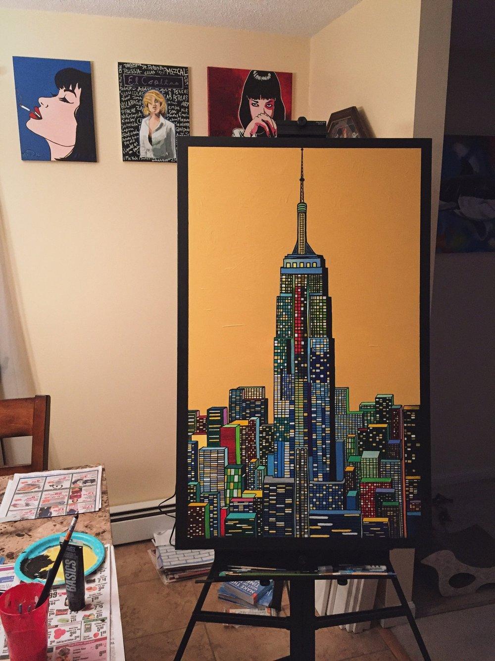 Golden Empire - Empire State Building