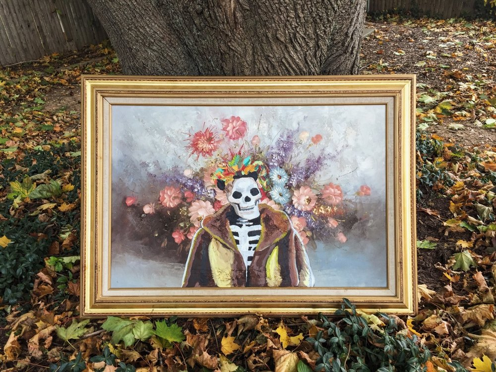 Mrs So Fly - Skull in a Mink