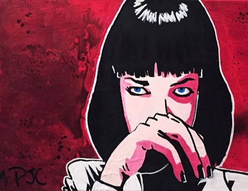 Don't be a square - Mia Wallace | Pulp Fiction