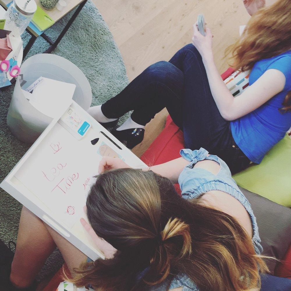 Tea-time tienermeisjes   - mei 2018