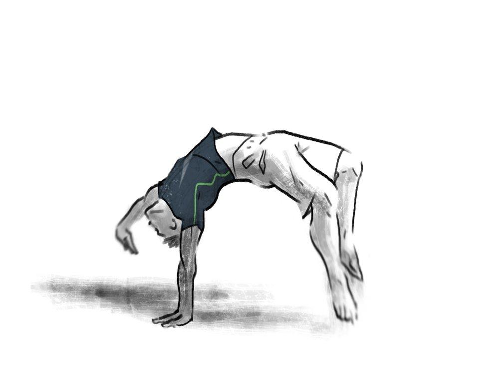 Exercice du Macaque Artiste: Guillaume Baqué