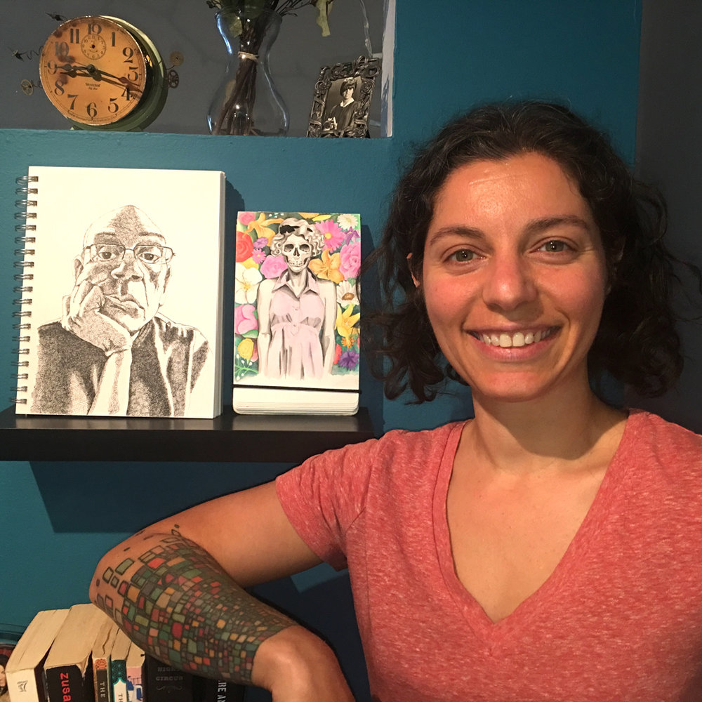 """Sktchy got me drawing and creating regularly more than I've ever done before"" -  Danna Feintuch"