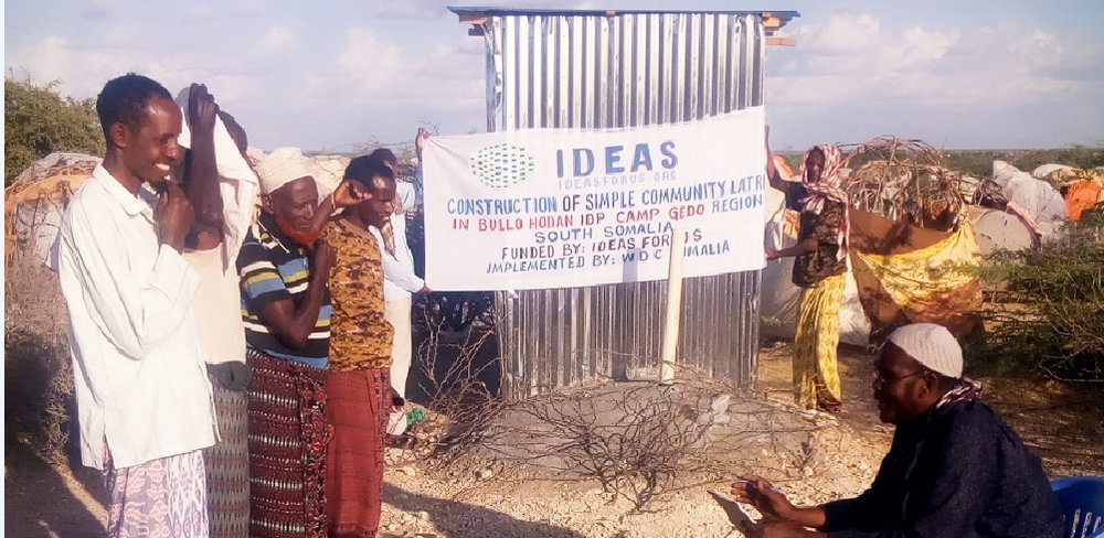 Latrine Construction in Gedo Region, Western Somalia