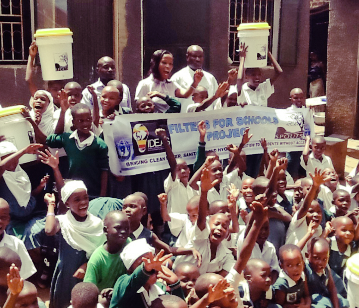 Water Filters for Schools Project near Kampala, Uganda