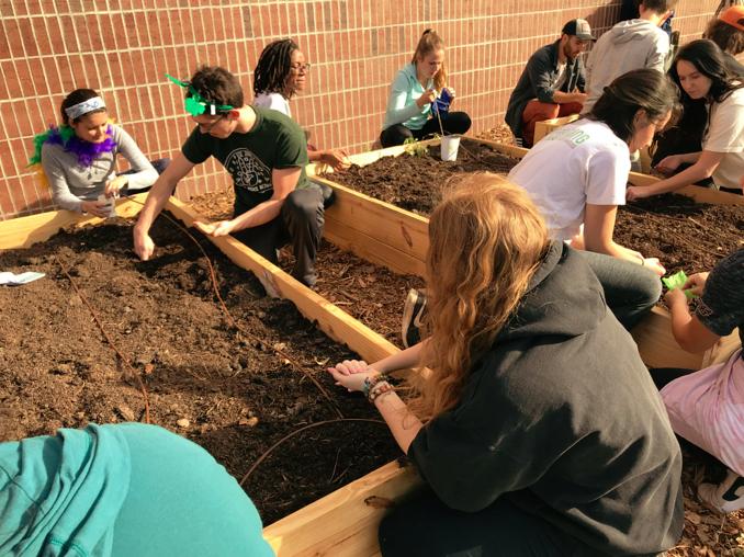 Campus Garden Installs