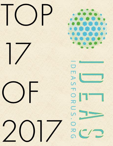 Top 17 of 2017