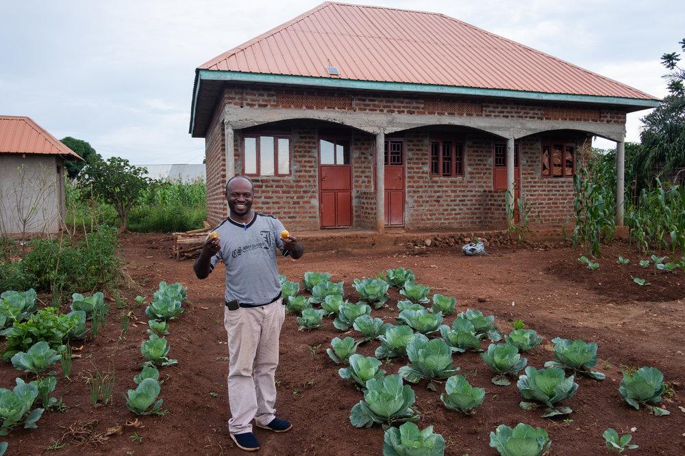 Dr. Masereka Adidas and his Fleet Farm!