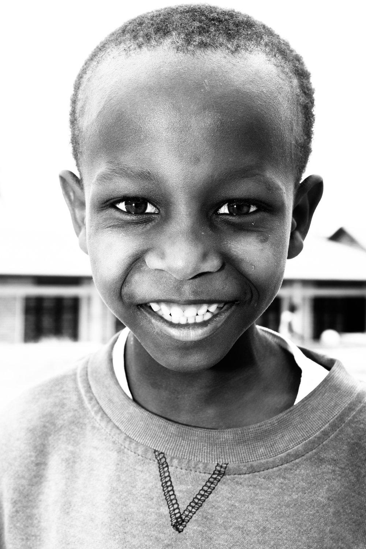 A young boy in Nyanza, Rwanda