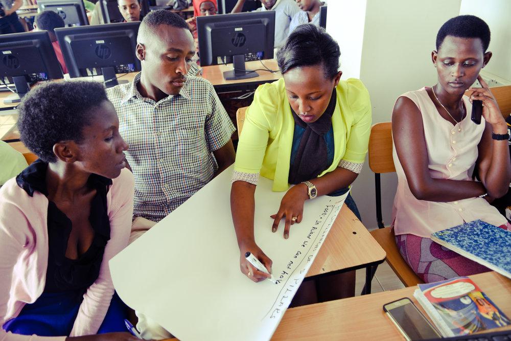 The Hive at a University in Rwanda