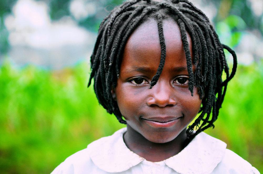 A young Congolese refugee in Kisoro, Uganda