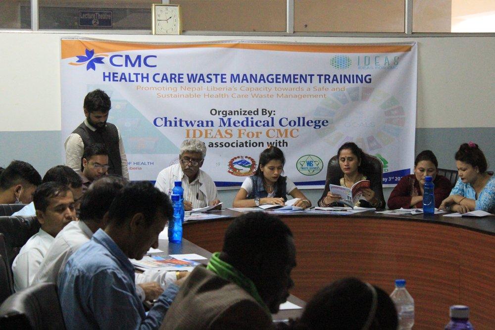 Healthcare Waste Management Training Workshop