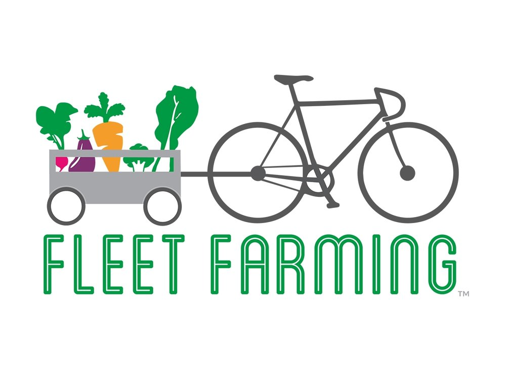 Fleet Farming - is a hyper-local urban agriculture program converting unconventional lawn spaces into abundant micro-farms that educate and supply citizens, farmers markets, restaurants, and communities with fresh and healthy produce.