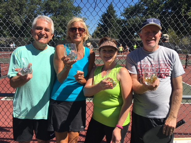 Mixed Doubles 3.0 Winners:  Jeff & Kathy Hoyt, Nadine Powell and Bob Trickety