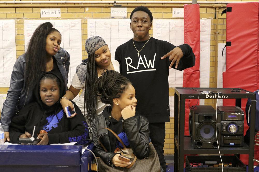 John Jay students.