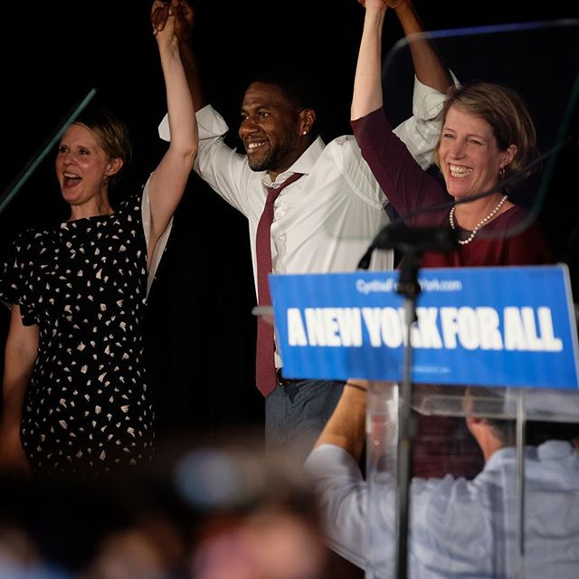 Losing felt like winning with @cynthiafornewyork @jumaane.williams @zephyrteachout @workingfamilies. They changed the agenda, helped eradicate the IDC. . . #ig_politics #noidcny #makenytrueblue #newyork