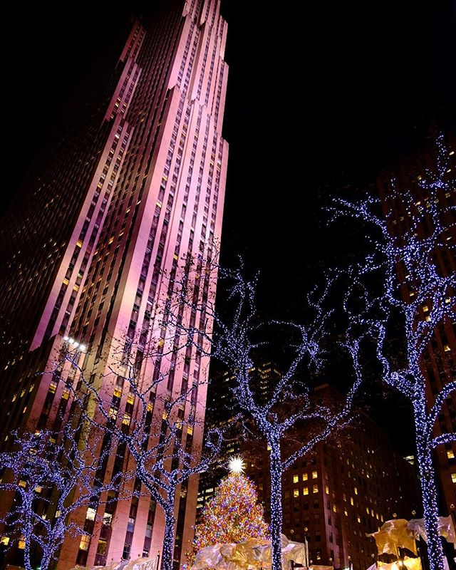 I couldn't help myself as I was walking by the Rockefeller Center tree. Never ceases to amaze, no matter how hard I try to resist. #rockefellercenter #rockefellerchristmastree #christmas #touristphoto
