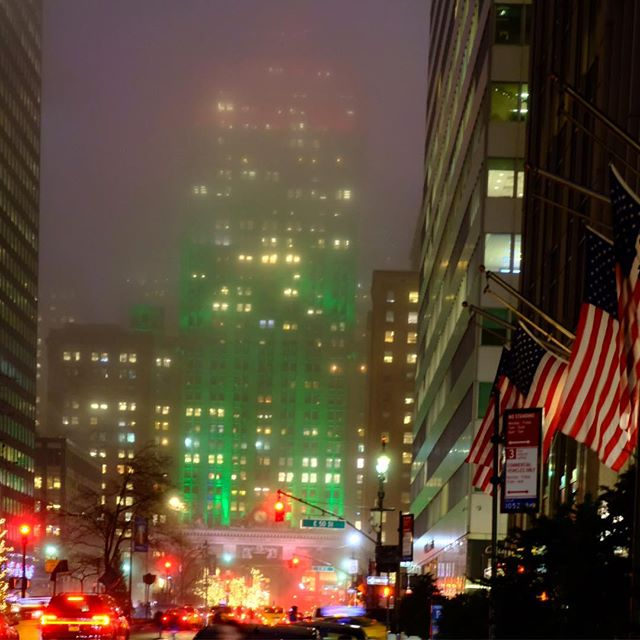 One hour of holiday lights in midtown Manhattan. . . #holidaylights #fujifilm