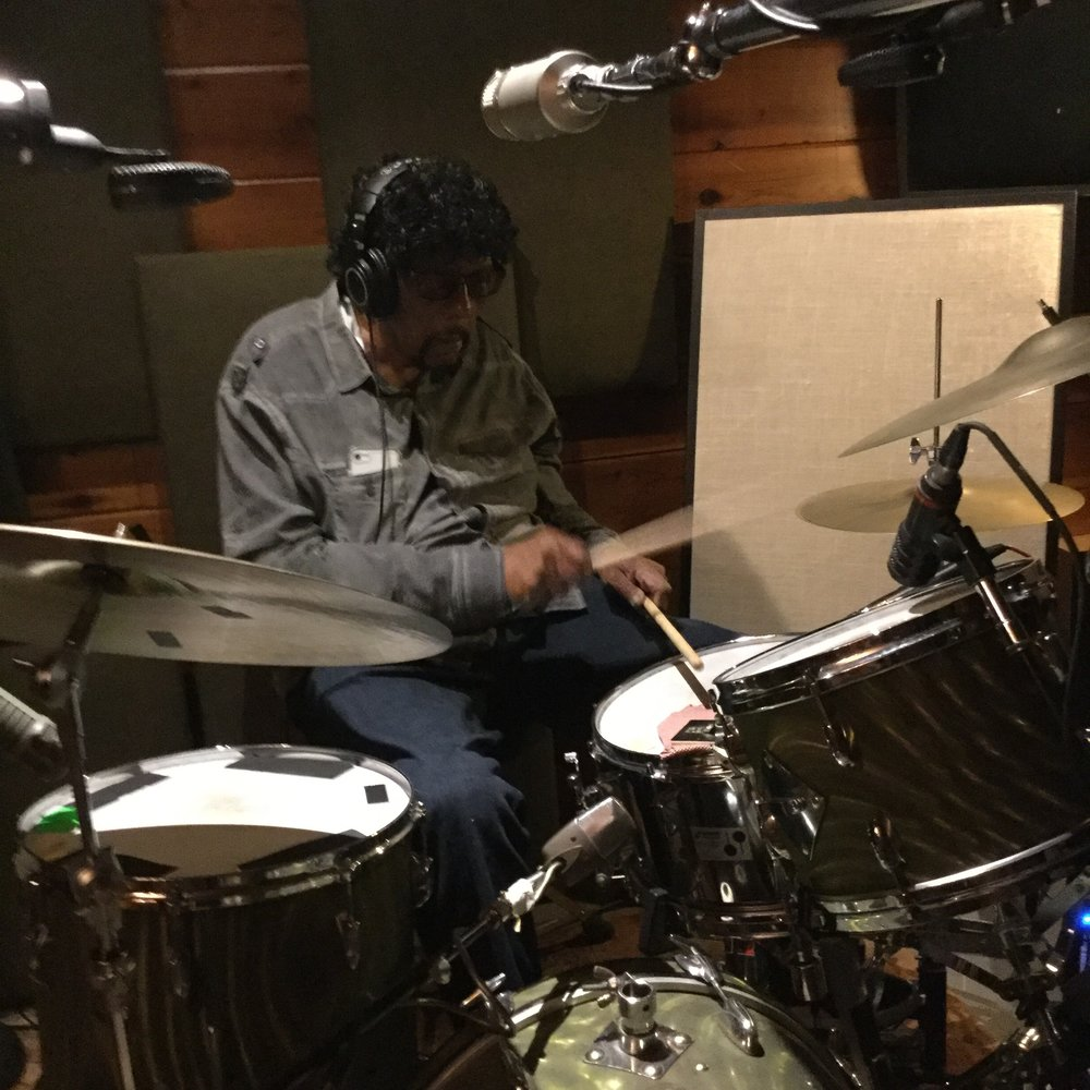 James Gadson Recording Drums