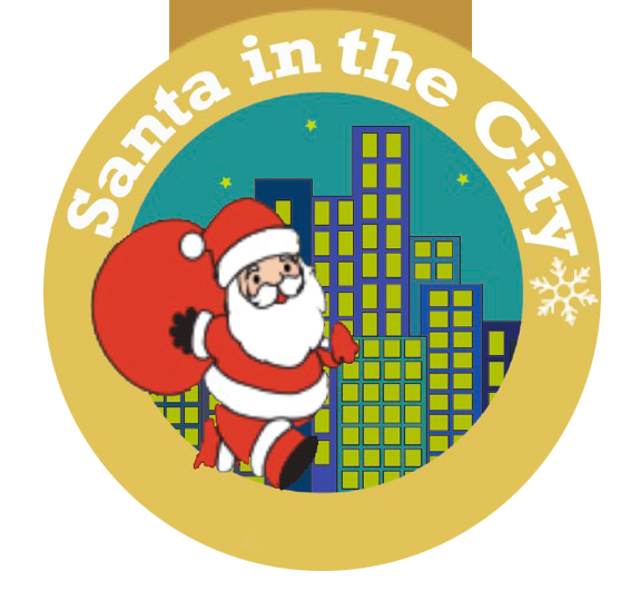 Image result for santa in the city