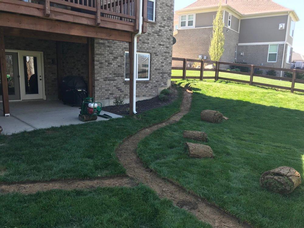Drainage Installation - Service Lawn Care, LLC