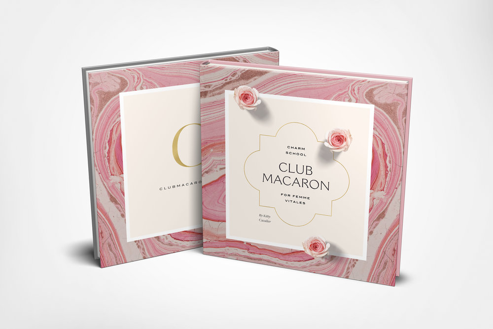 The Club Macaron Book - Available to members only, this full-color, 180 page gem of a book will be delivered to your to your inbox immediately. {Or, if you prefer the REAL THING, order a print copy to be delivered to your doorstep!} Part personal memoir, part cheeky magazine, part interactive guidebook, this beauty will show you how to infuse style, sensuality and feminine spirituality into every area of life. {Click here to peek at the introduction.}