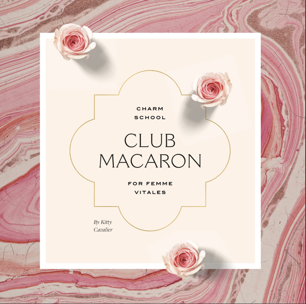Click here to check out the Club Macaron book in all its splendor! -