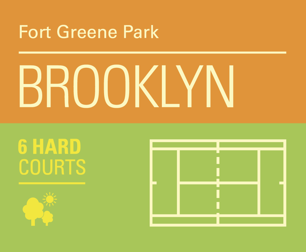 Brooklyn color represnets Roland Garros
