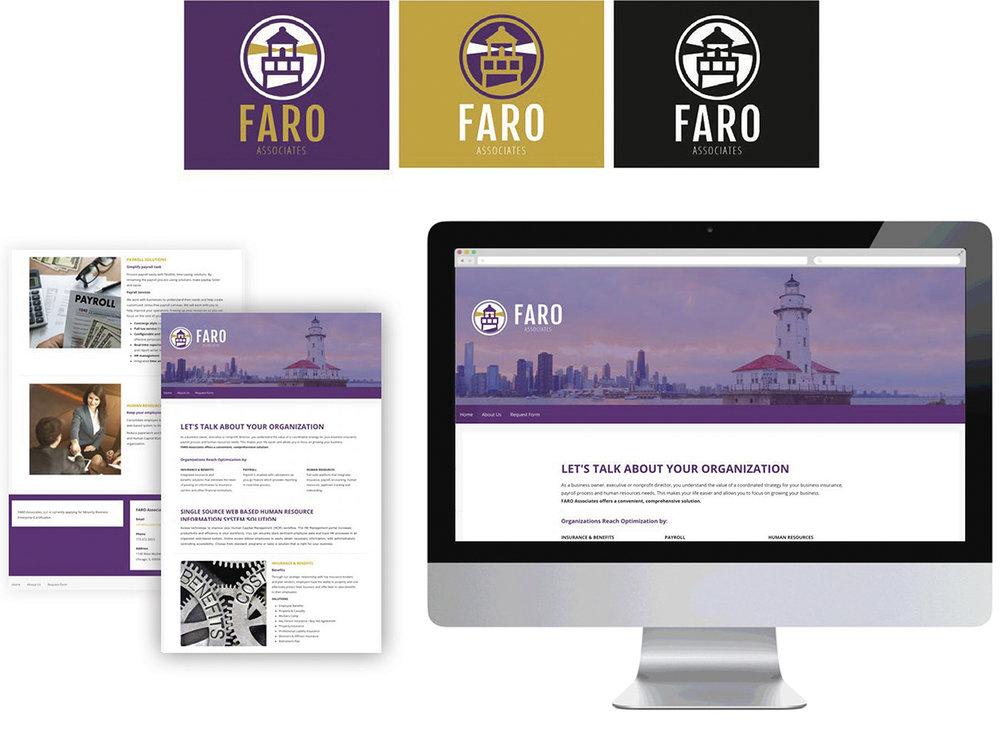 Faro Associates Brand Identity System