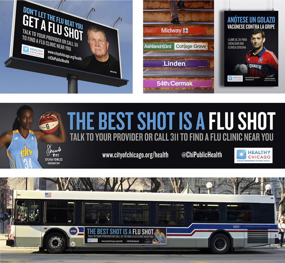 Healthy Chicago Flu Shot Campaign