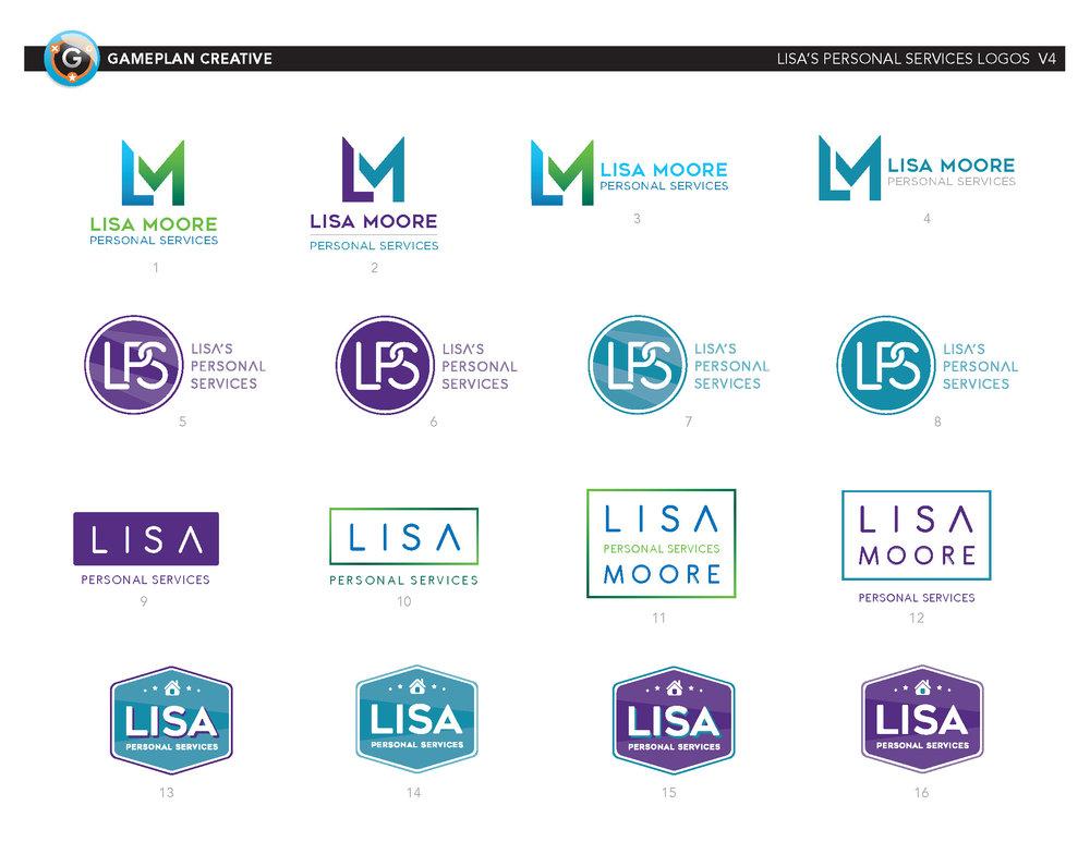 Lisa Moore Logo Exploration