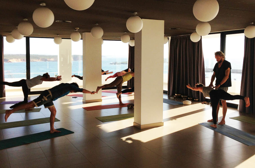 Yoga retreat week Algarve Portugal