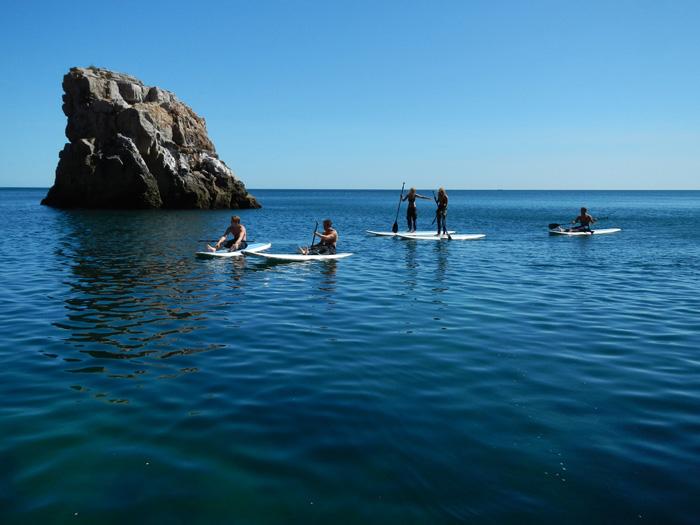 October yoga surf retreat Portugal