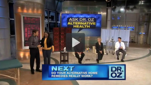 Dr. Mao Shing Ni discusses helpful tips to treat allergies on The Dr. Oz Show.