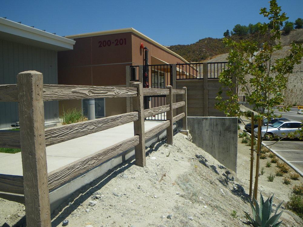 RanchRail Precast Fence