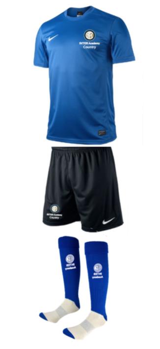 INTER Academy Tábor felszerelés (mez, nadrág, sportszár)