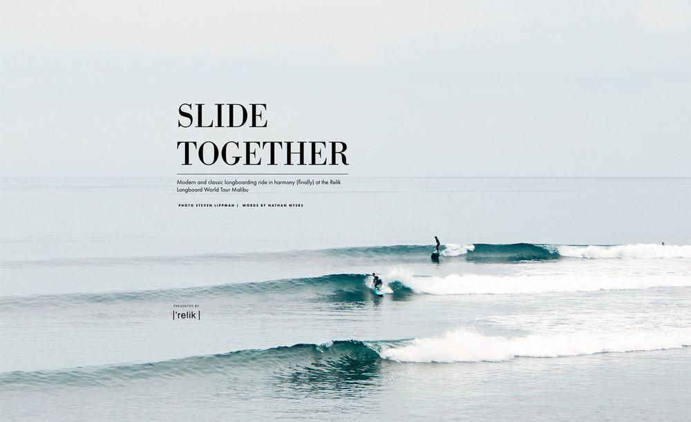 Slide Together - Surfline Editorial July 2018