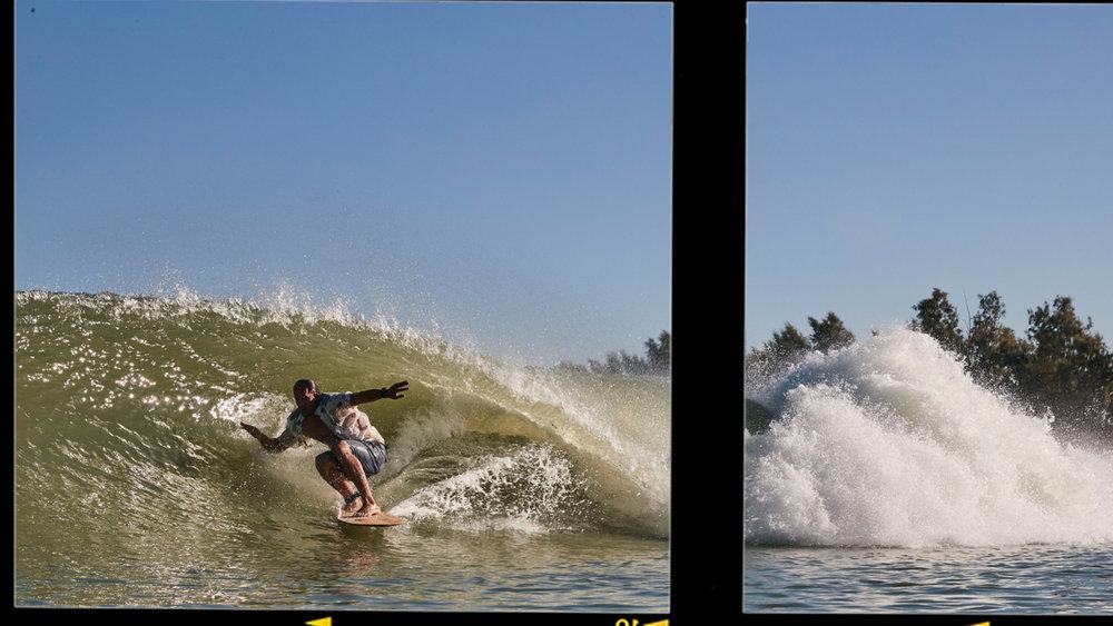 Jensen: full-speed, fin- and friction-free. Photo: Lippman