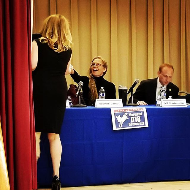 It was an honor to meet everyone last night at my first District 18 Democratic Candidates' Forum. Thank you everyone for being so welcoming; this will truly be a great race. #mddistrict18 #marylandpride #politics #mcarhart4d18 #md #dems #silverspring #currentevents #localpolitics #mdevents